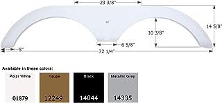 ICON 01963 Fender Skirt for Jayco - Tandem Axle, Polar White