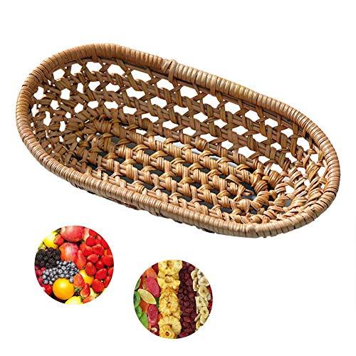 Multifunctioneel, duurzaam, goede afwerking, handgeweven tablets, geschikt voor gedroogde vruchten, noten, snoepgoed en fruit