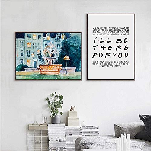 póster friends de la marca FGJF