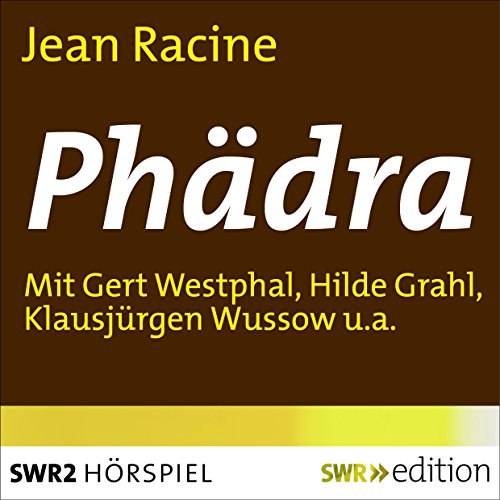 Phädra Audiobook By Jean Racine cover art
