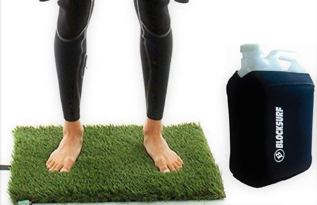 Surf Shower jug New York Max 61% OFF Mall Tank and Grass mat pad Changing