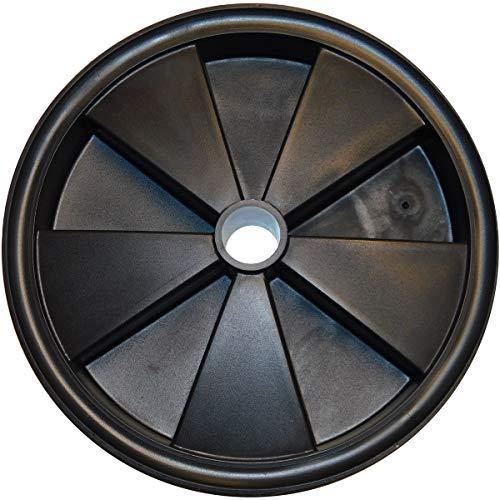 LESCHA Ersatzteil | Rad komplett für Betonmischer SM 125 S/SM 145 S/Euro-Mix 125 / BX 135