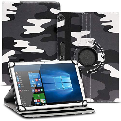 Tablet Schutz Hülle kompatibel für Jay-tech G10.11 LTE / G10.10 Schutzhülle Tasche Kunstleder mit Standfunktion 360 Drehbar, Farben:Motiv 11