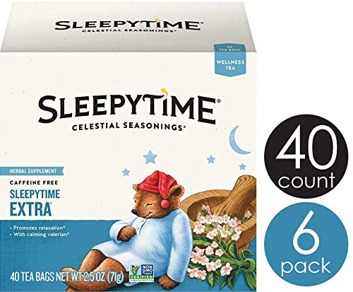 Celestial Seasonings Sleepytime Tea and Sleepytime Extra Tea