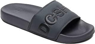 DC Men's Slide Flip Flops Thong Sandals