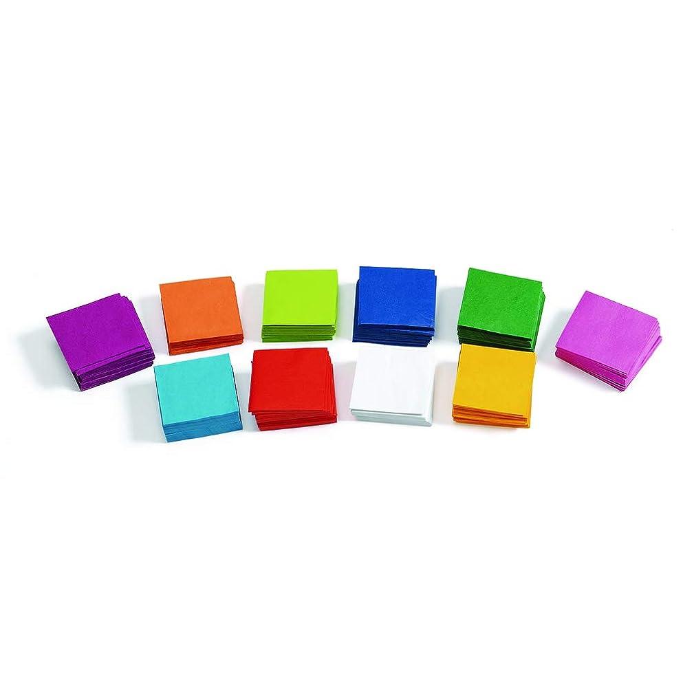 Colorations TINYTIS Mini Tissue Squares - 5,000 Pieces