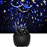 Star Night Light Projector for Kids, KINGWILL Starry Sky Projector Light with 360 Degree Rotating,...