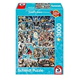 Schmidt Spiele Hollywood XXL - Puzzle Renato Casaro 3000 Teile