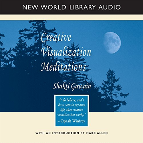 Creative Visualization Meditations audiobook cover art