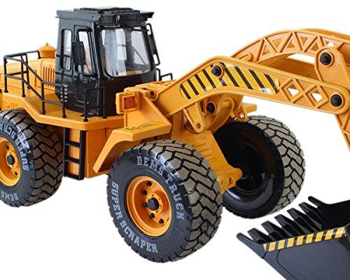 RC Auto kaufen Baufahrzeug Bild 3: GYD Radlader RC Baufahrzeug, Bagger, 3 Kanal, Maßstab 1:18, mit Akku Spielzeug Spiel Trecker Bagger Ferngesteuert NEU*