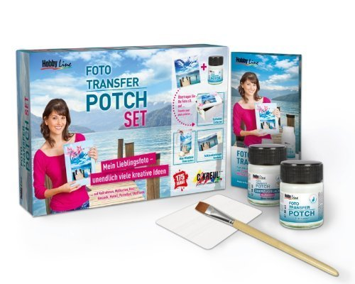 Foto Transfer POTCH Set - Foto-Technik (5-teilig)