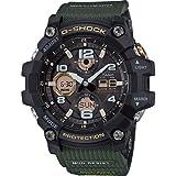 Casio Reloj Analógico-Digital para Hombre de Cuarzo con Correa en Caucho GWG-100-1A3ER