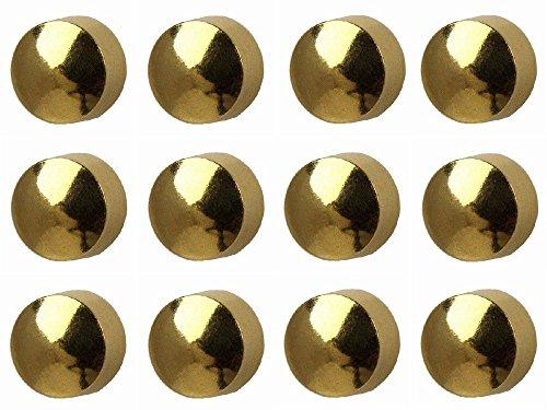 12 Paires Studex Mini 2mm Boule Plaine Traditionnelle Plaqué Or Lunette Réglage Oreille Piercing Boucles D'oreilles