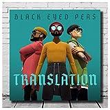 HJZBJZ Black Eyed Peas - Übersetzung Cover Poster und