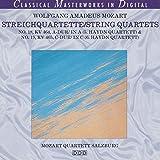 Wolfgang Amadeus Mozart - Streichquartette/String Quartets - NO.18, KV 464, A-DUR/ in A (5. Haydn Quartett) & NO.19, KV 465, C-Dur/ in C (6. Haydn Quartett)