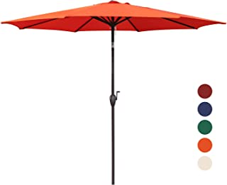 d3c688ca2bd1 Amazon.com: Orange - Umbrellas / Umbrellas & Shade: Patio, Lawn & Garden