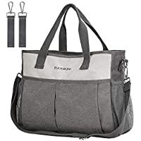 Canway Large Convertible Baby Bag with Insulated Pocket