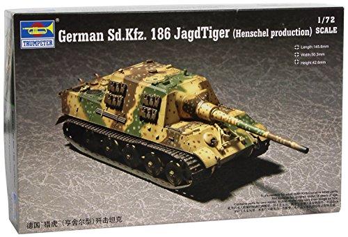 Trumpeter 07254 Modellbausatz German Sd.kfz.186 Jagdtiger (Henschel production)
