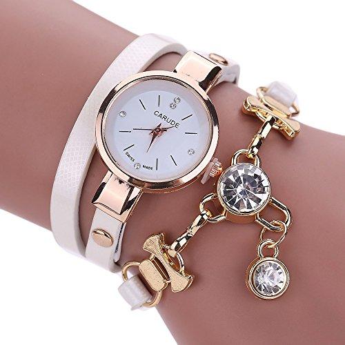 YunYoud Mode Frauen Damen Kunstleder Strass Analog Quarz Kleid Armbanduhren metall komplett viereckige grau strasssteinen besondere automatik schwarzem metallarmband
