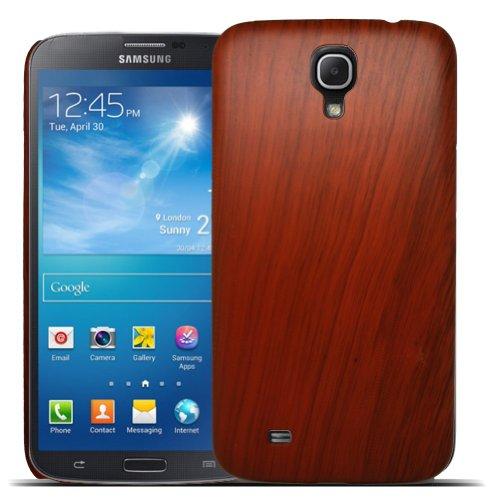 Accessory Master-Custodia Rigida, Colore: Marrone, Effetto Legno, per Samsung Galaxy Mega GT-i9220