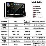 Mulcort Osciloscopio Digital Portatil 1013D 2 Channels 100MHz 2 Banda Ancha 1GSa/s con Pantalla Táctil 7 pulgadas