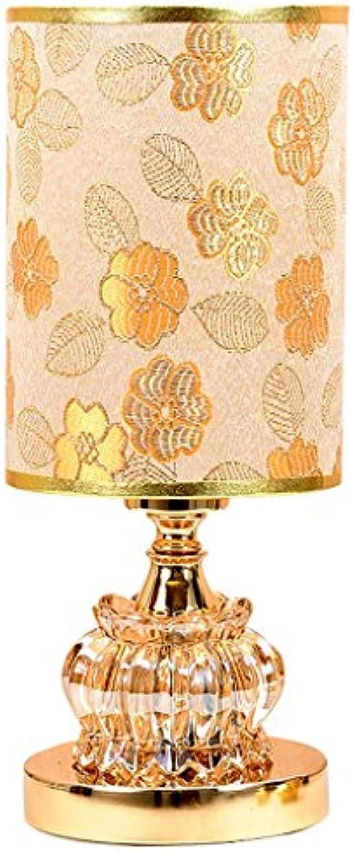 TangMengYun Europische Glas Schreibtisch Lampe, Dimmable Dekorative Licht Nacht Licht, Study Zimmer Wohnzimmer Schlafzimmer neben Lampe Tischlampe (E27) (Farbe   A-14  34CM)