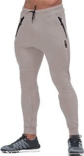 Men's Slim Fit Joggers Workout Sports Fleece Sweatpants for Gym Training