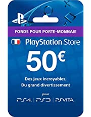 Carte Playstation Store - 50 € Ps4