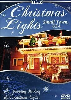 Christmas Lights Small Town USA