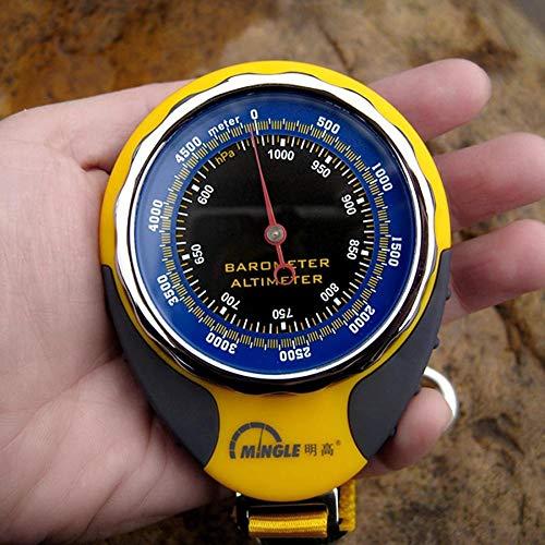 CELINEZL Randonnée Mingle BKT381 Altimètre Multifonctions avec Boussole, baromètre et thermomètre Randonnée