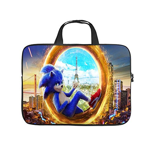 Universal Laptop Computer Tablet,Bag,Cover for, Apple/MacBook/HP/Acer/Asus/Dell/Lenovo/Samsung, Laptop Sleeve,SSO-nic The Hedgehog 88,15inch/39.2x28x1.5cm