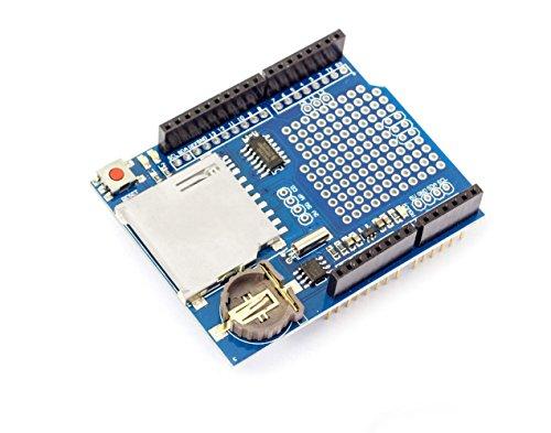 2in1SD & Micro SD Card Reader Shield para Arduino UNO y Mega 2560Prototipos