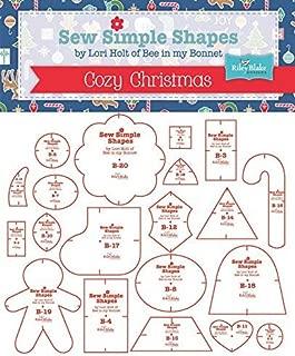 Riley Blake Cozy Christmas Sewing Templates