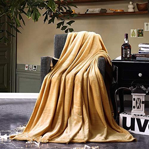 QZXCD Deken Super Zachte Warm Micro Pluche Fleece Wol Deken Gooi Fuzzy Tapijt Winter Pluche Microvezel Stof Slaapbank Handdoek