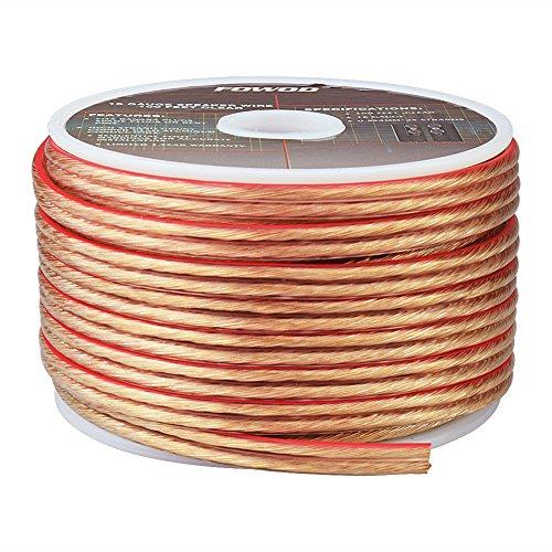 Fowod 16AWG Speaker Wire (50 Feet) - Spooled