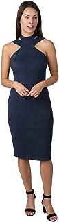 bebe Womens Bodycon Halter Dress