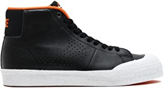 Sb Blazer Zoom Mid Xt Mens Hi Top Trainers 876872 Sneakers Shoes (UK 9 US 10 EU 44, Black Metallic Silver White 001)