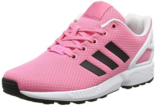 adidas Unisex-Kinder ZX Flux Sneaker Low Hals, Pink (Easy Pink/core Black/FTWR White), 32 EU