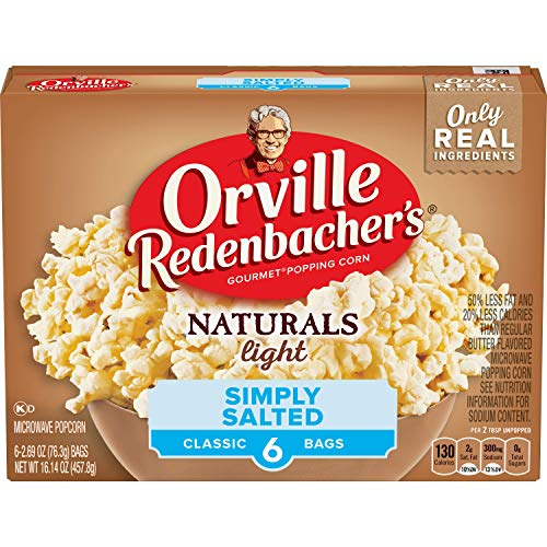 Review Orville Redenbacher's Salted Popcorn, 16.14 Ounce
