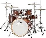 Gretsch Drums Catalina Maple CM1-E605-WG 5-Piece Drum Shell Pack, Walnut Glaze
