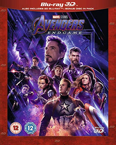 Avengers Endgame 3D [Blu-ray] [UK Import]