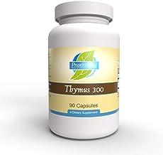 Priority One Vitamins Thymus 300mg 90 Capsules - Glandular- Immune System Support*
