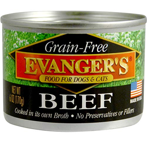 Evanger's Grain-Free Beef Canned Dog & Cat Food | Chewy