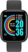 UIEMMY slim horloge Smart Horloge Leven Waterdicht Fitness Tracker Hartslagmeter Bloeddruk Bluetooth D20 Smartwatch Voor I...