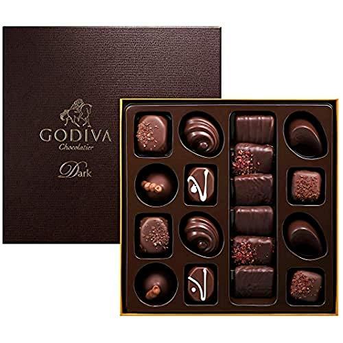 Godiva Connoisseur dunkel WHS 18 Pieces, 195 g