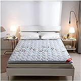 ZQW Colchón Plegable del Piso del futón, Futón japonés Colchón Plegable Tatami Colchón Colchón Estudiante Dormitorio...