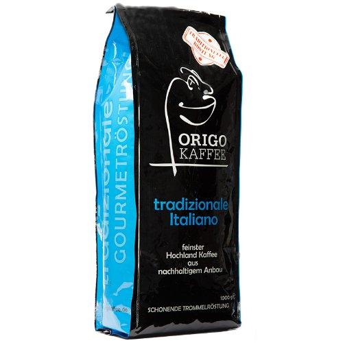 ORIGO - Tradizionale Italiano Kaffee, Ganze Bohne, 1000g