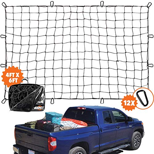 Grit Performance Super Duty Bungee Cargo Net for Truck Bed