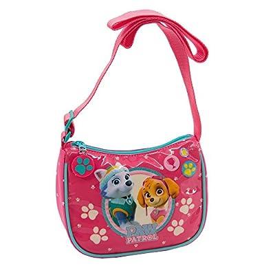 La Patrulla Canina Girl Bolso Bandolera, 2 litros, Color Rosa por La Patrulla Canina
