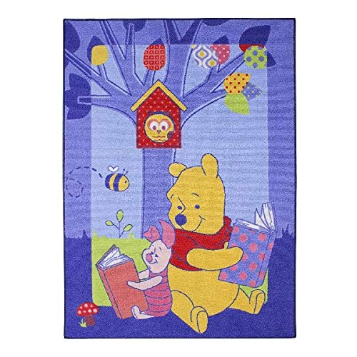 Associated Weavers 614582 Tapis Disney Winnie The Pooh Polyamide Mousse Gel 95 x 133 cm